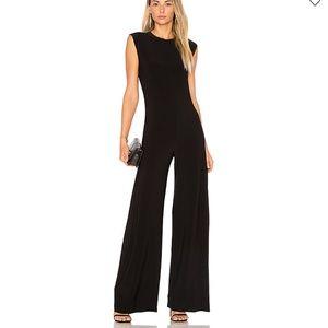 NORMA KAMALI Sleeveless Black Jumpsuit Black